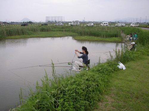 x3 滋賀県 草津市 志那の池