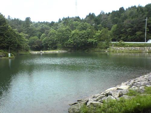 u2 滋賀県 三雲 瓢箪池